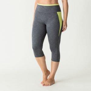 the workout legging yellow