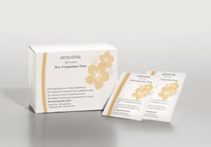 amoena skin preparation tonic wipes